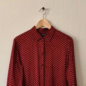 MADEWELL- pijama silk style shirt